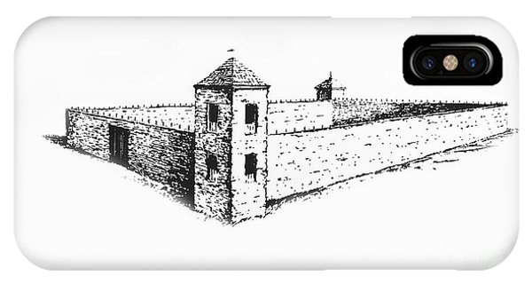 IPhone Case featuring the photograph Fort St. Vrain by Jon Burch Photography