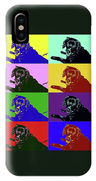 Foster Dog Pop Art IPhone Case