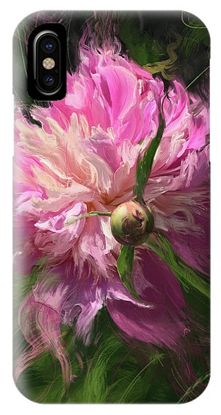 Peony iPhone Case - Fourth Of July by Garth Glazier