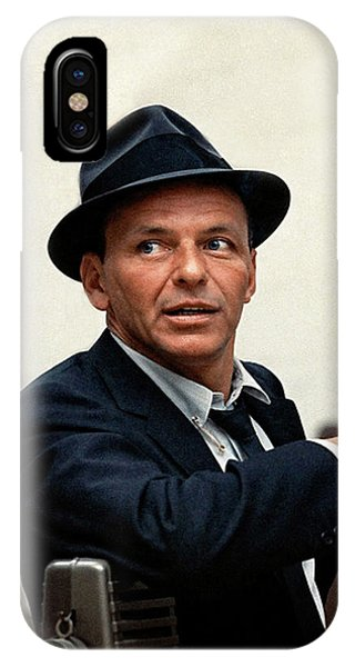 Frank Sinatra At Capitol Records, 1953 IPhone Case