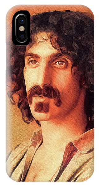 Frank Zappa iPhone Case - Frank Zappa, Music Legend by John Springfield
