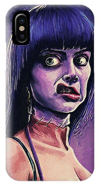 Dark Humor iPhone Case - Frankenhooker by Zapista Zapista