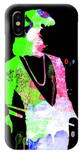 Print iPhone Case - Freddie Watercolor II by Naxart Studio