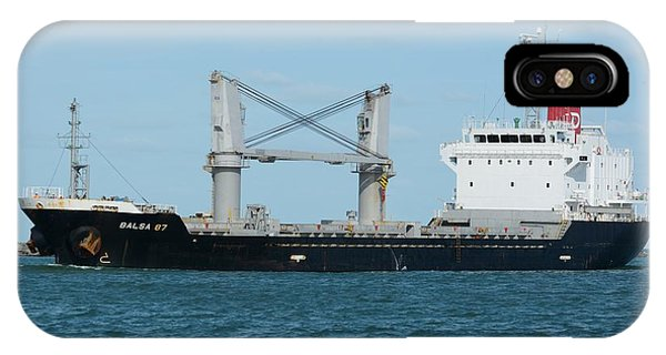 IPhone Case featuring the photograph Freighter Balsa 87 by Bradford Martin