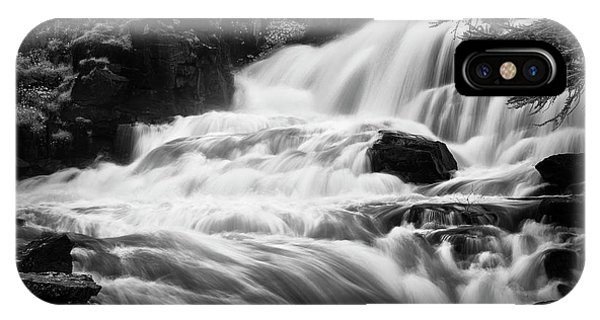 French Alps Stream IPhone Case