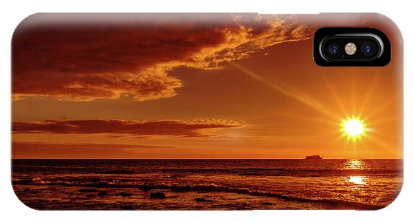 Friday Sunset IPhone Case