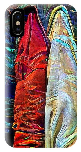 IPhone Case featuring the digital art Friends by Pennie McCracken
