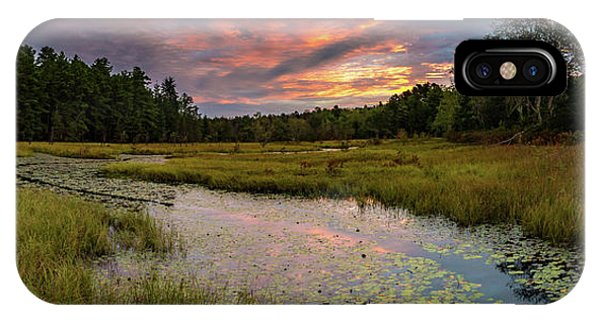 Friendship Panorama  Sunrise Landscape IPhone Case