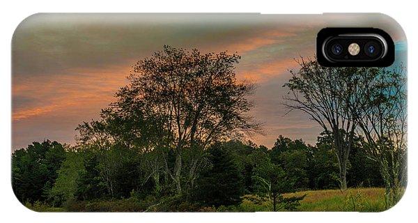 Pine Lands In Friendship Sunrise IPhone Case