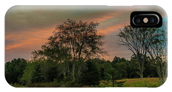 Pine Lands In Friendship Sunrise IPhone Case