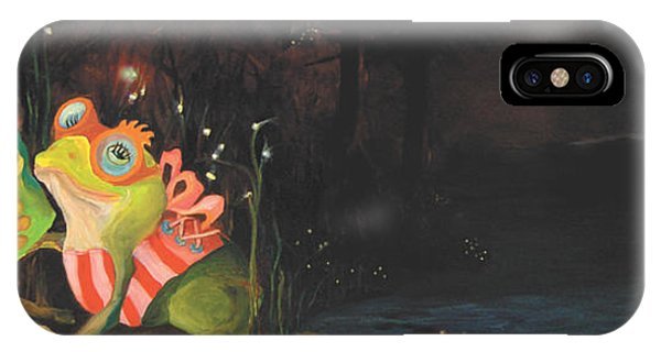 Frogs Of Silver Lake IPhone Case