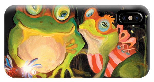 Frogs Overlay  IPhone Case