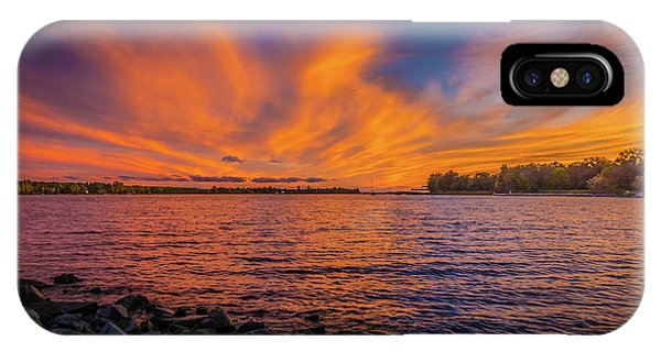 Frontenac Ferry Sunset IPhone Case