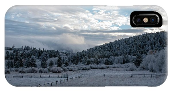 Frosted Sunrise 1 IPhone Case