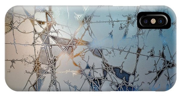 Frost Glass iPhone Case - Frozen City Of Ice by Scott Norris