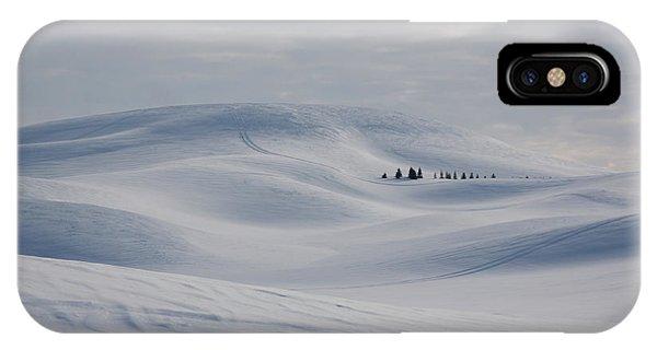 Frozen Winter Hills IPhone Case