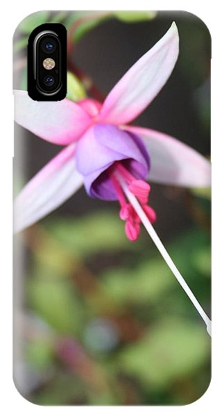 Fuchsia Showing Off In All Its Glory IPhone Case