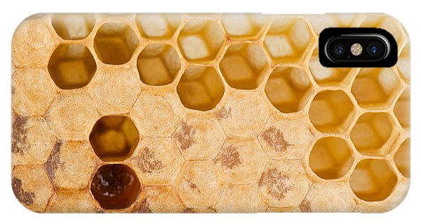 Eating iPhone Case - Full And Empty Honeycomb Close Up by Vova Shevchuk