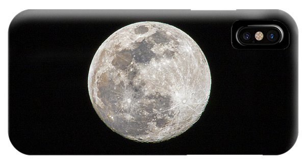 IPhone Case featuring the photograph Full Moon by Allin Sorenson