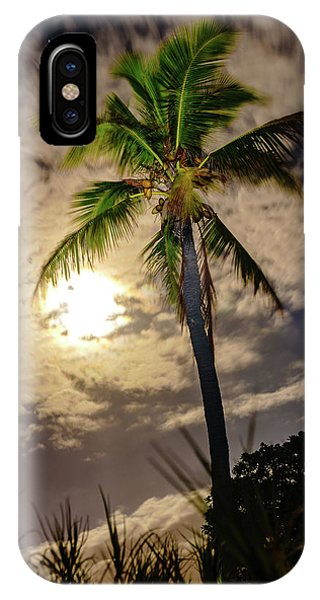 Full Moon Palm IPhone Case