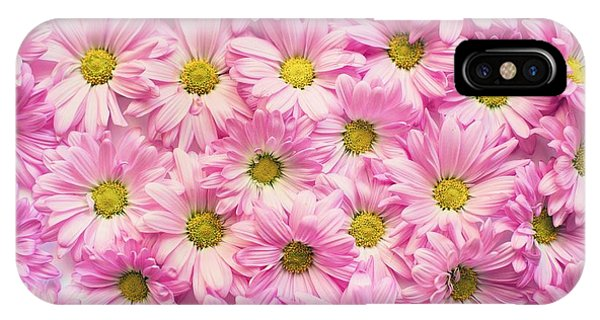 Full Of Pink Flowers IPhone Case