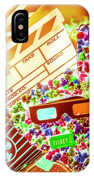 Movie iPhone Case - Funky Film Festival by Jorgo Photography - Wall Art Gallery