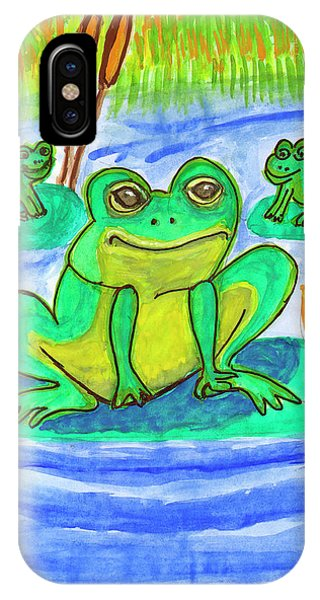 Funny Frogs IPhone Case