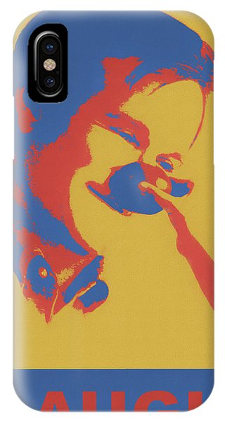 Robin Williams Comedian iPhone Case - Funny Man by Dan Sproul