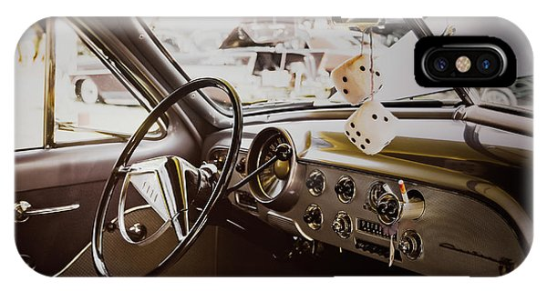 Vehicles iPhone Case - Fuzzy Dice by Scott Norris
