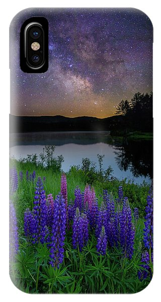 Galactic Lupines IPhone Case