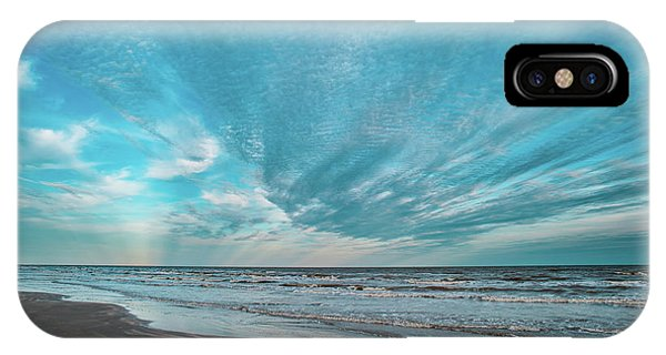 Galveston Island First Light IPhone Case