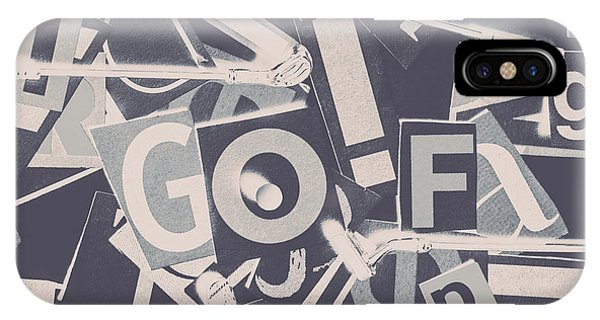 Golf Ball iPhone Case - Game Of Golf by Jorgo Photography - Wall Art Gallery