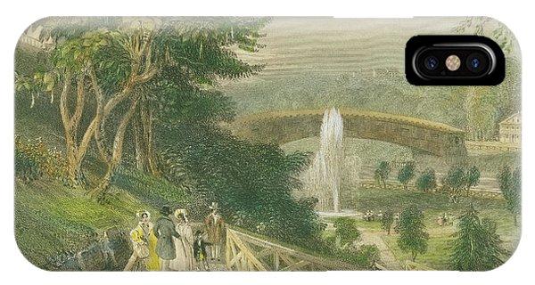 Garden At Fairmount IPhone Case