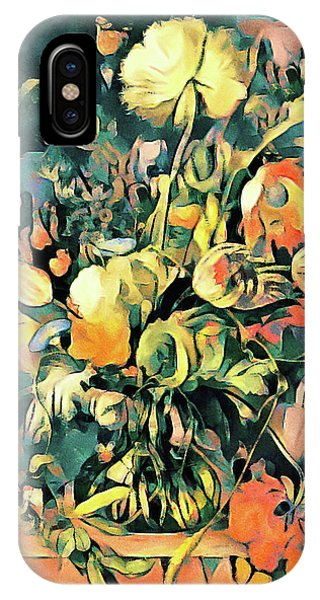 IPhone Case featuring the painting Garden Bounty by Susan Maxwell Schmidt