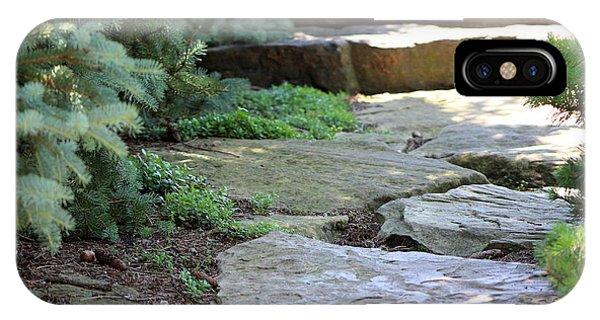 Garden Landscape - Stone Stairs IPhone Case