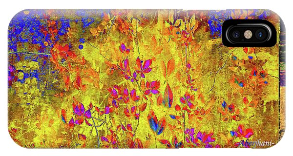 IPhone Case featuring the digital art Garden Of Grace And Resilience by Aberjhani