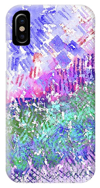 Garden Of Purple And Green IPhone Case