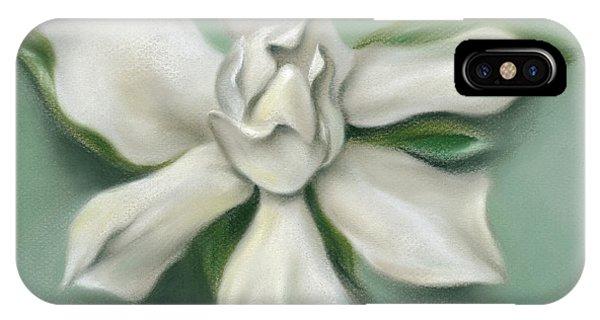Gardenia Flower IPhone Case