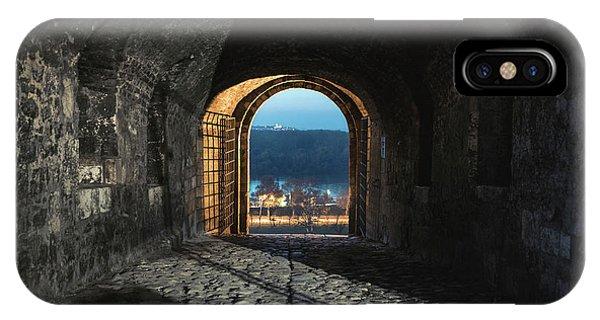 IPhone Case featuring the photograph Gate At Kalemegdan Fortress, Belgrade by Milan Ljubisavljevic