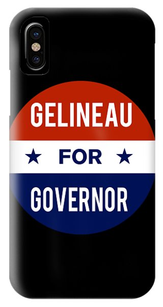 Gelineau For Governor 2018 IPhone Case