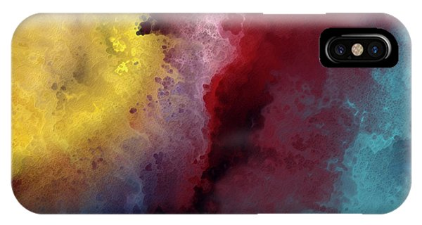 IPhone Case featuring the painting Genesis 1 3. Let There Be Light by Mark Lawrence