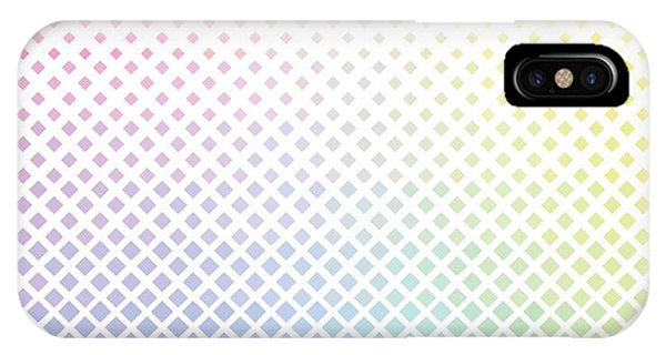 Seamless iPhone Case - Geometric Color Rhombus Pattern by Etcberry
