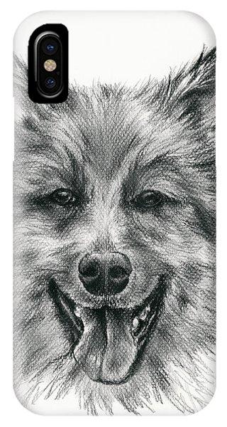 German Shepherd Smile IPhone Case