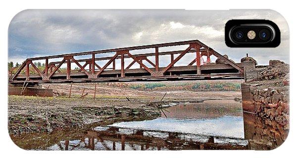 Ghost Bridge - Colebrook Reservoir IPhone Case