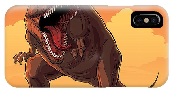 Claws iPhone Case - Giant Prehistoric Monster Of Dinosaur by Den Zorin