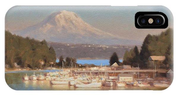 iPhone Case - Gig Harbor - Afternoon Sun by Ezra Suko