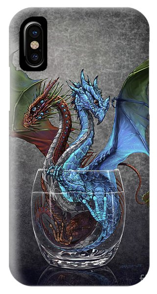 Gin And Tonic Dragon IPhone Case