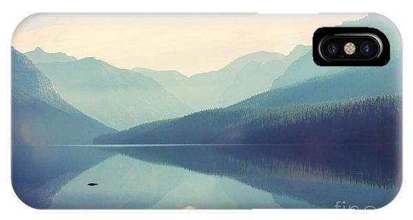 Serenity iPhone Case - Glacier National Park, Montana, Usa by Galyna Andrushko