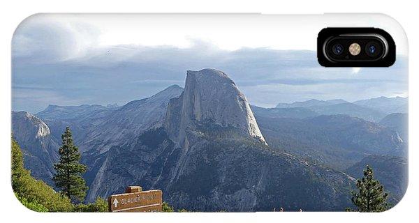 Glacier Point IPhone Case