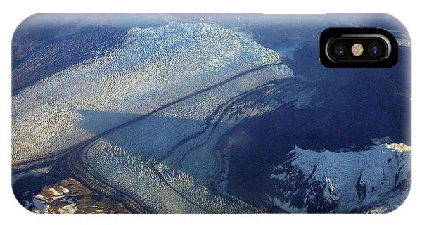 Glaciers Converge IPhone Case